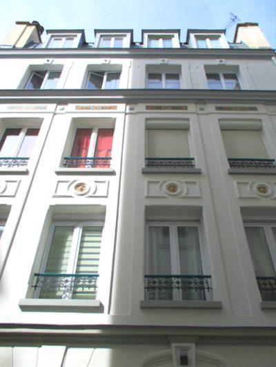 rue de Couédic 2eme façade après